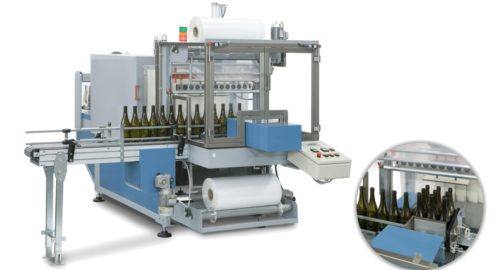 700B FLEX: Shrink wrapping machine for small and light weight products