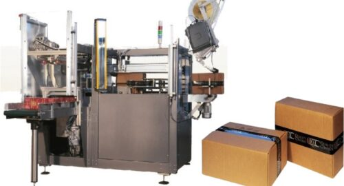 Horizontal case packer for packaging of food cosmetics, pharmaceuticals, paper tissue and industrial | CARBONCHI CTI Italy