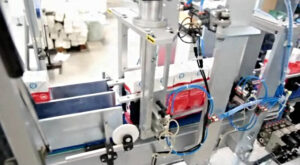 INSERT 12: Shrinkwrapping machine for milk and juice brick packaging | carbonchi cti italy
