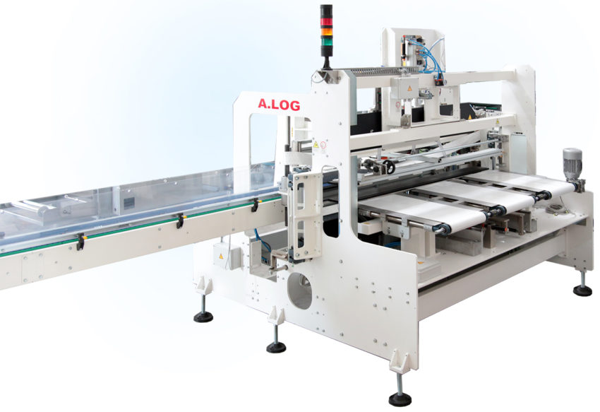 A.LOG Banding machines Tissue Packaging | Carbonchi CTI Italy