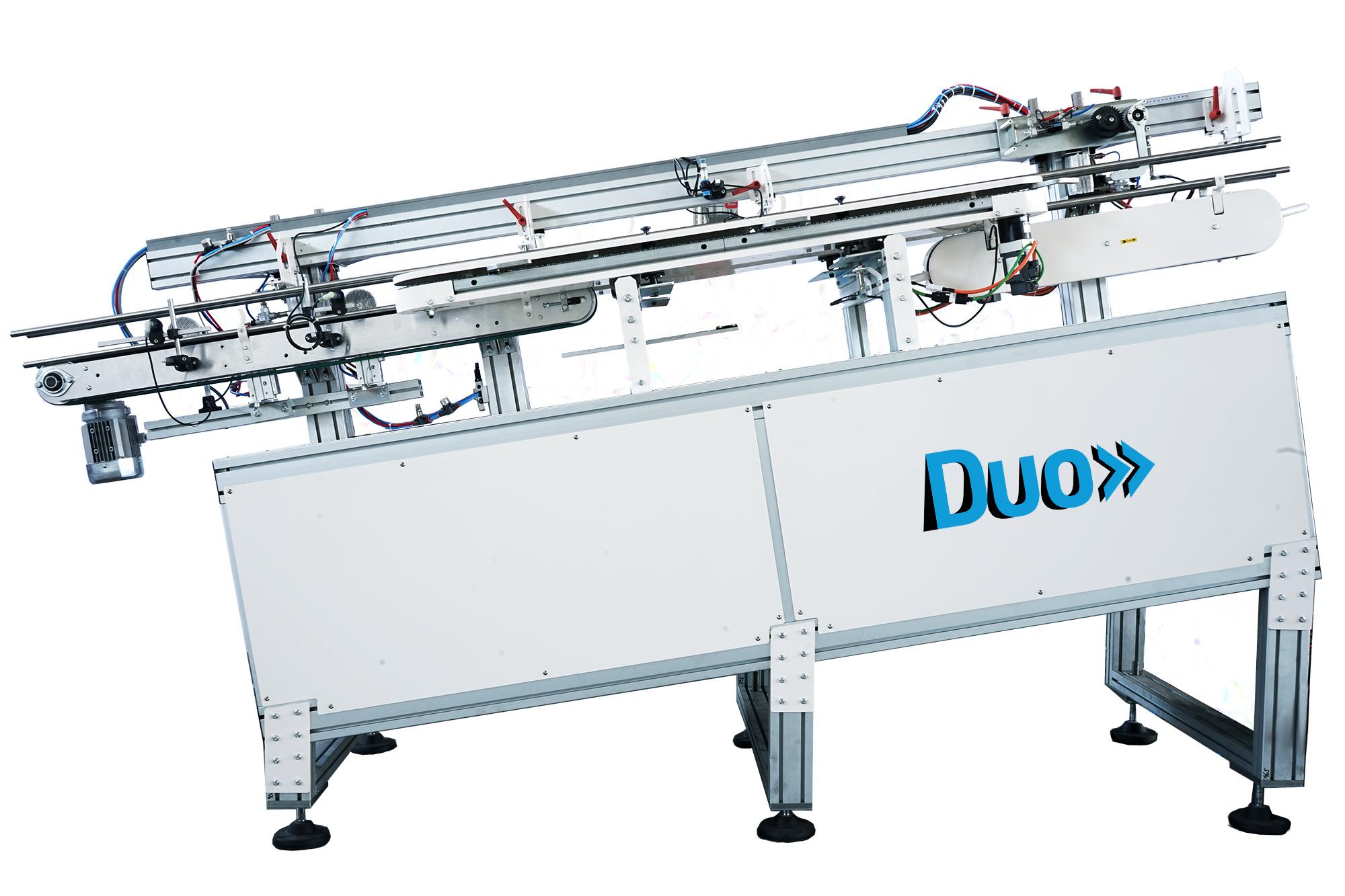 DUO | sistema automatico di incapsulamento stecche bicchieri | CARBONCHI CTI SRL