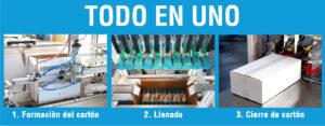 OMNIA: Una línea de envasado innovadora y compacta para bolsas en rollos y bobinas | CARBONCHI CTI